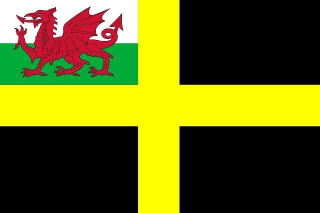 Cymru Daffid St David's Flag