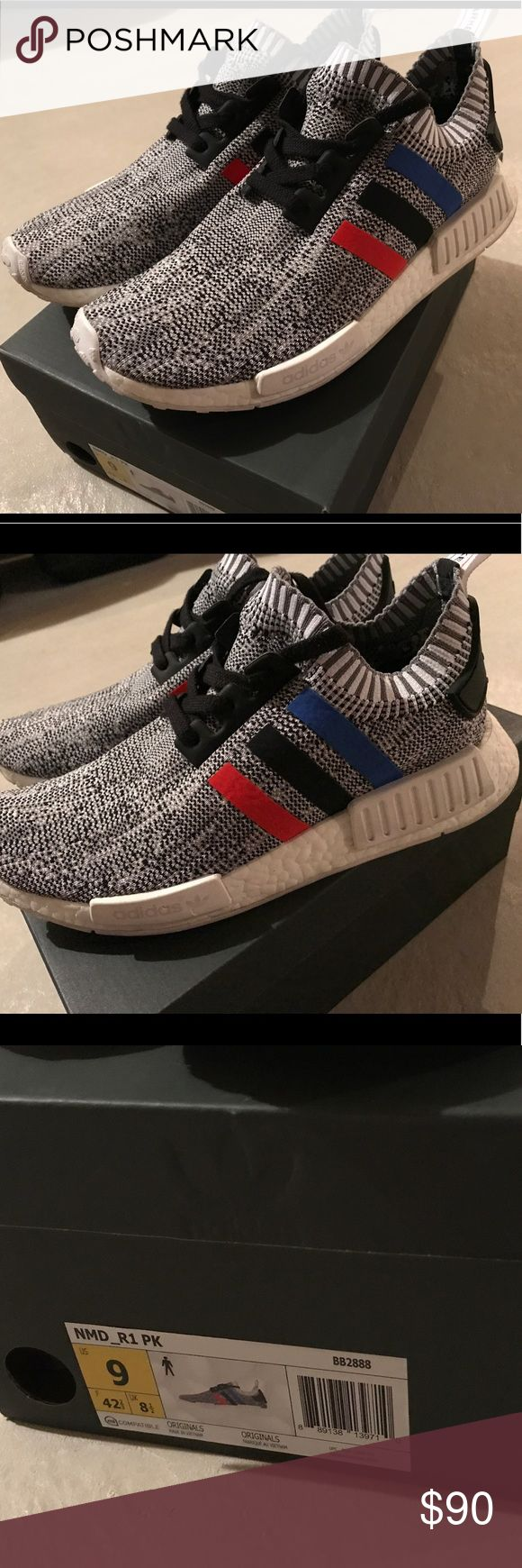 Adidas NMD R1 primeknit Great condition, trim color NMD r1. Primeknit. Size 9 adidas Shoes Sneakers