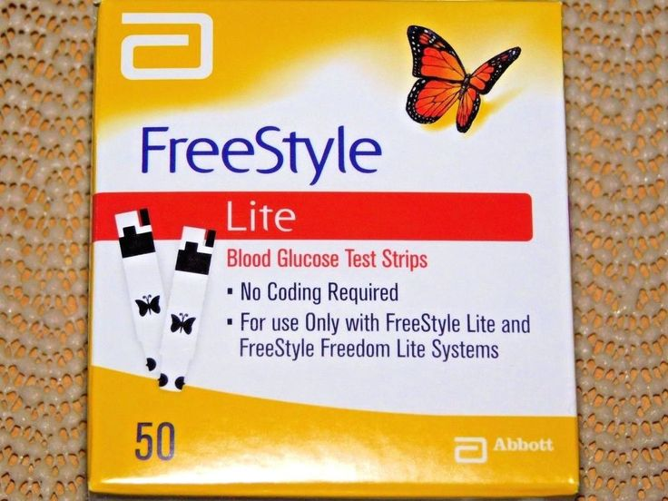 FreeStyle Lite Diabetic Test Strips : In Box Sealed / Never opened  Exp. 1.31/ 2 #FreestyleLite