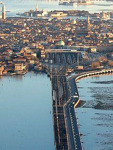 Der Bahnhof Venezia Santa Lucia (italienisch Stazione di Venezia Santa Lucia) ist der Hauptbahnhof von Venedig. Er ist ein Kopfbahnhof und der einzige Bahnhof auf der Insel von Venedig. Seinen Namen hat er von der Santa-Lucia-Kirche, die ursprünglich an diesem Ort stand und für den Bau des Bahnhofs 1861 abgerissen wurde. Ein Gedenkstein auf der Mitte des Platzes erinnert an die ehemalige Kirche.