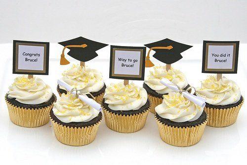 Fiesta de Graduacion. Cupcakes. | Ideas para Decoracion