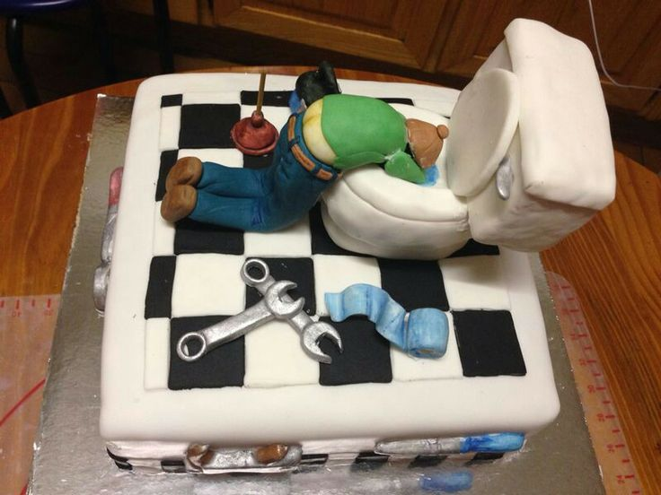 Cake for a Plumber