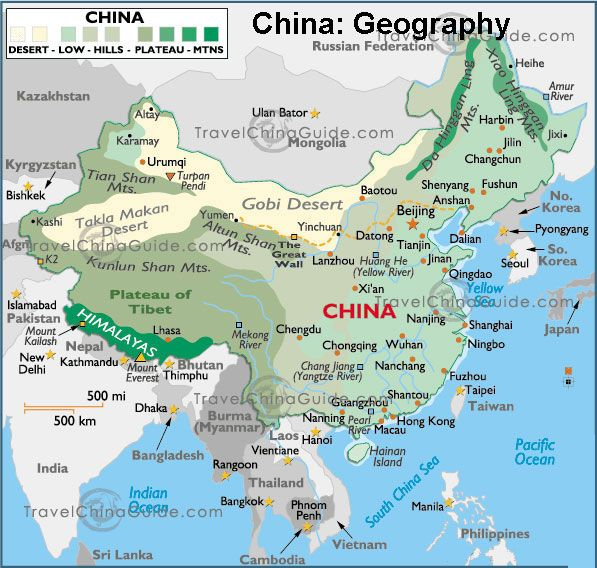 Map of China ... Let The Trip Planning Begin!!!