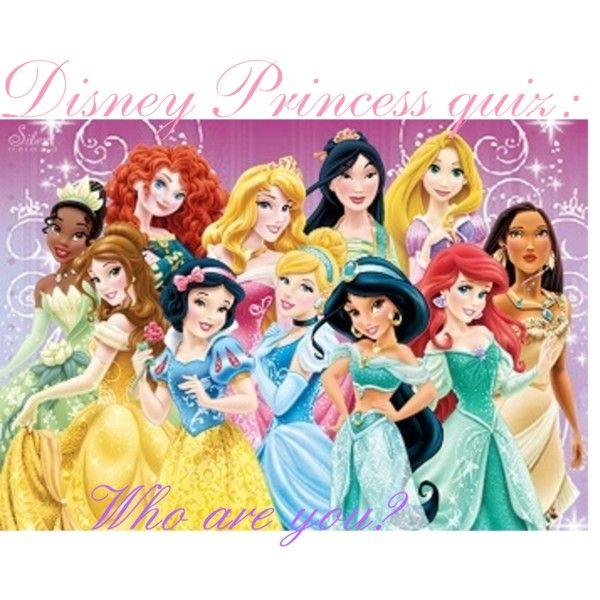 Disney Princess Quiz! | Disney Princesses | Pinterest