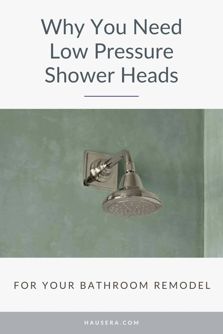 3 Best Shower Heads For Low Water Pressure In 2020 Low Pressure