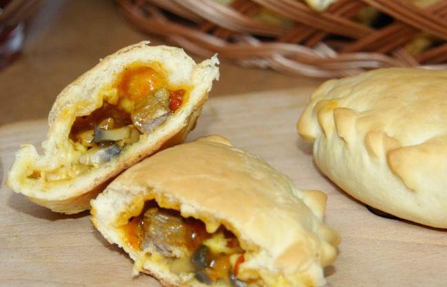 Закусочные пирожки с индейкой