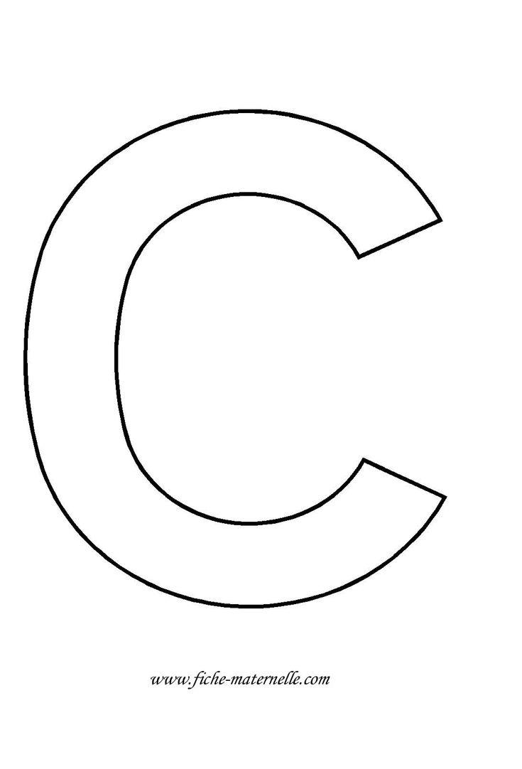 Lettre de l 39 alphabet d corer fran ais pinterest - Lettres de l alphabet a decorer ...
