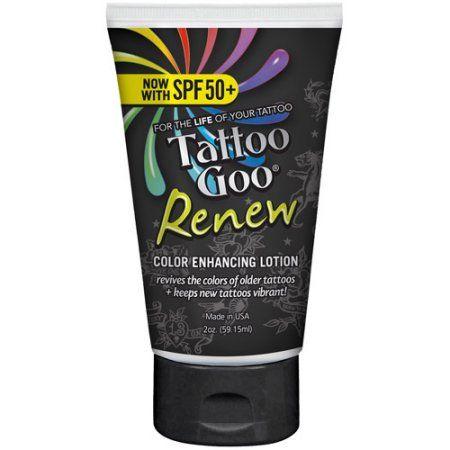 Tattoo Goo Tattoo Enhancing Lotion, 2 oz
