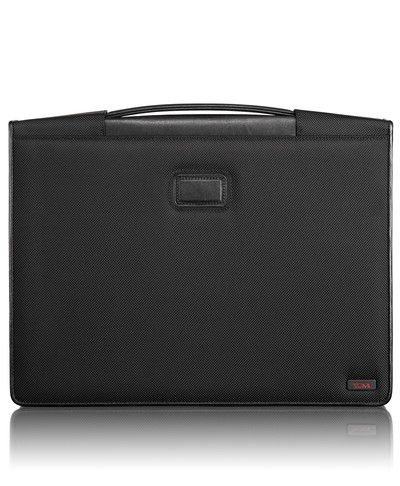 """Tumi Notepad Portfolio for iPad """"The ultimate executive accessory"""" also comes in leather."""
