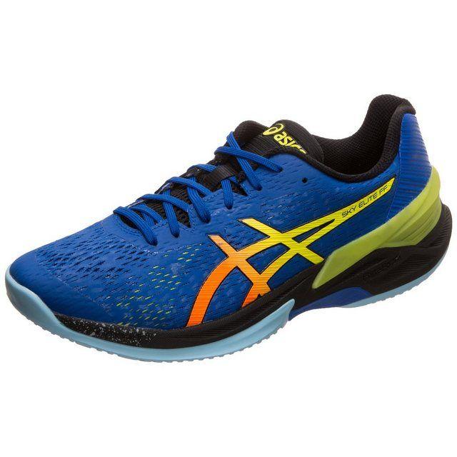 Sky Elite Ff« Handballschuh | Blau gelb, Blau und Schuhe