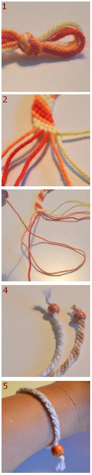 Skapligt Enkelt: Knyt ett kompisarmband