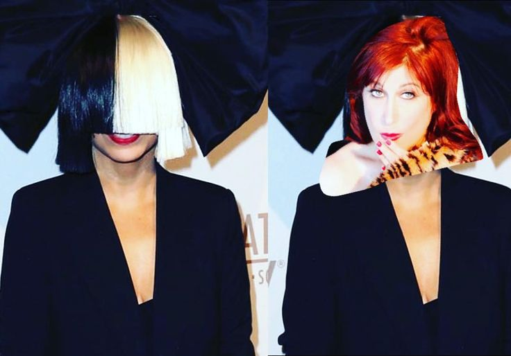 Time to unveil who the #face is under the  #sia #wig.  #crazy #redhead but only before she woke up from a really #awesome #dream in which she was a #badass #rockstar as of course there is only one #sia  and she is so cool.  Especially today!. #redhair #fangirl #noshame #greeneyes #musically #music #musician #photography #photooftheday #picoftheday #instagood #girl #lifestyle #lifestyleblogger #funnymemes #funny #crazyredhead ##sexy #cute #actress #cosplay