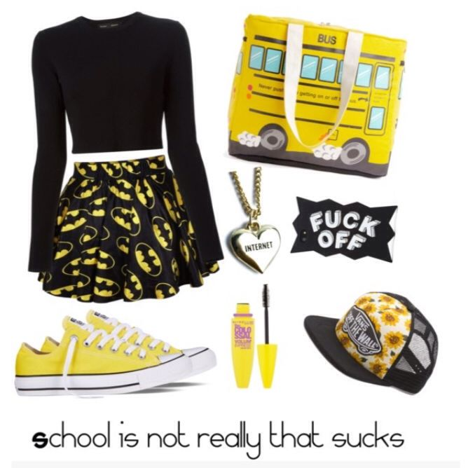 Black and yellow