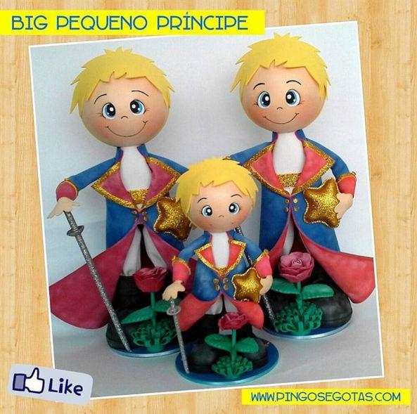 Muitos Fofuchos Pequenos Príncipes para o Murillo!