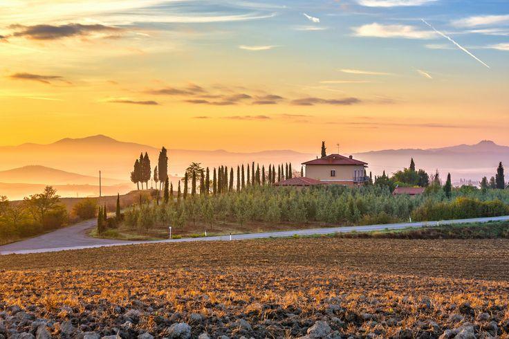 Panorama campagna Toscana