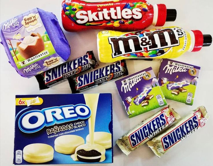 За необычными вкусными ощущениями -к нам! Мы Вас ждём  Шоколад Milkinis 75p Шоколад Snickers белый 89p Печенье Oreo в белом шоколаде 429р  Коктейль SkittlesM&Ms 299p Шоколад Snickers маршмеллоу и орешки 199#wanttasty