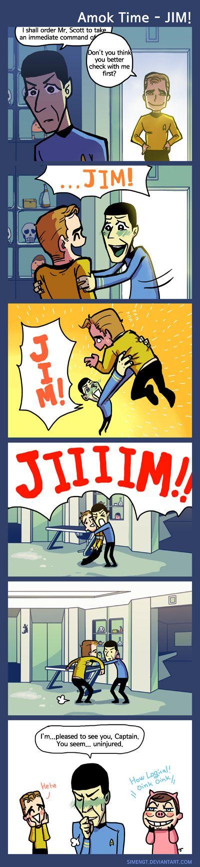 ST - Amok time - JIM by simengt.deviantart.com on @deviantART