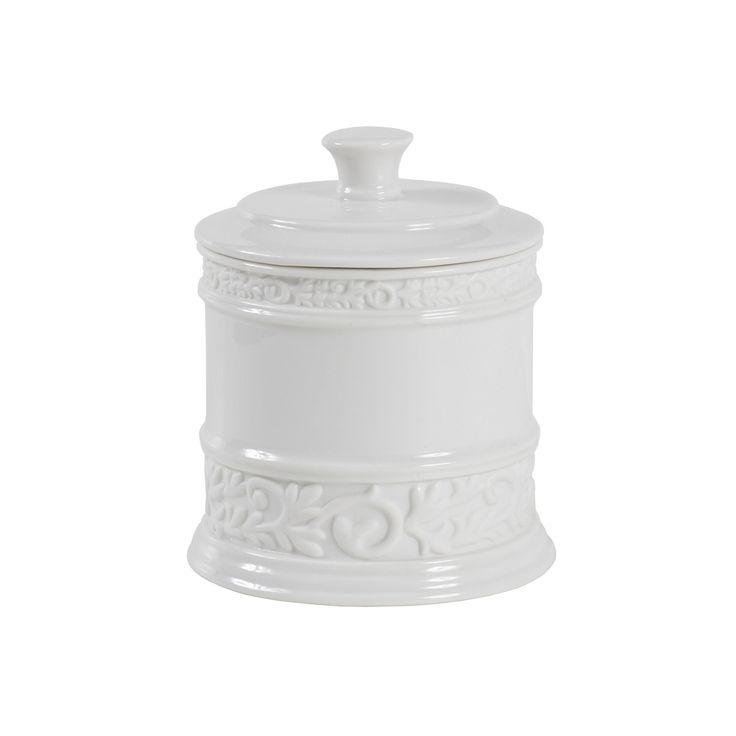 Creative Bath Cosmopolitan Jar, White