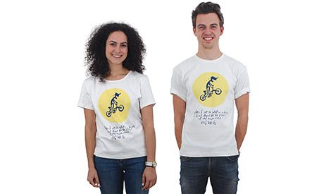 Channel that inner 'ethi-cool' kid with a H G Wells quote. More options available at newint.com.au/shop