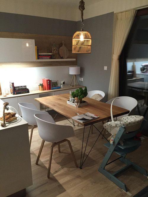 Netradiční jídelní stůl z Dubu