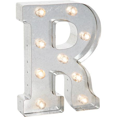 Light-Up Marquee Letter R - Walmart.com
