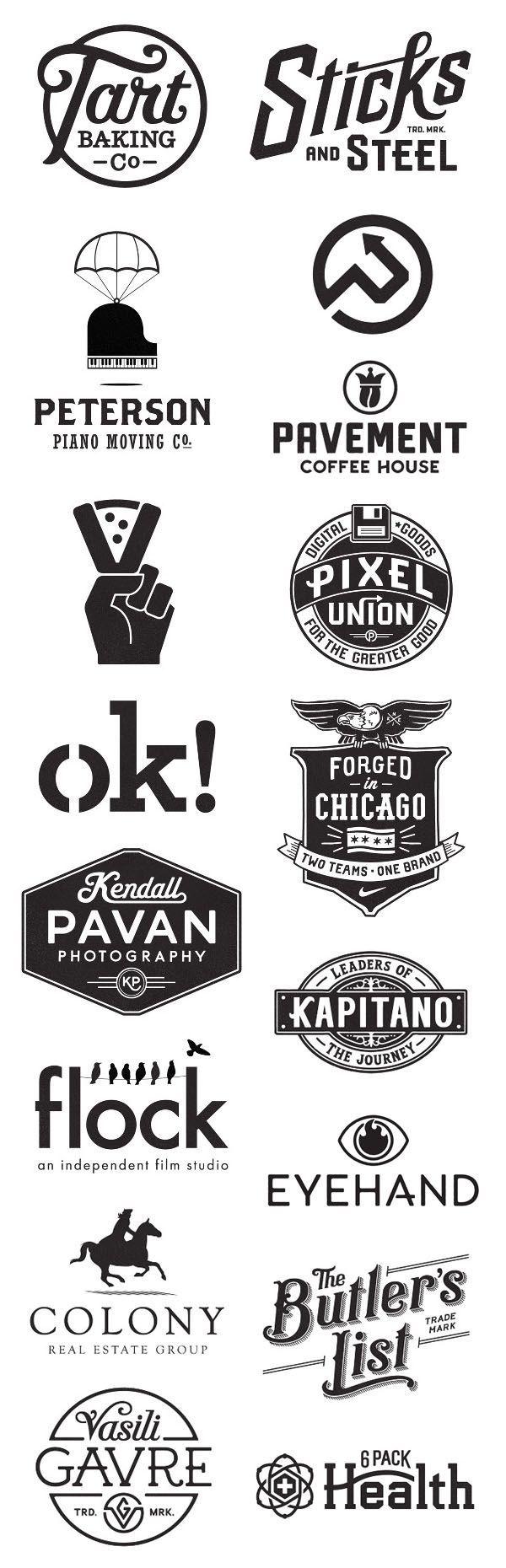 Tart Baking Co. + Vasili Gavre. Script font and block lettering. Simple circular logo. Logo designs by Commoner, Inc