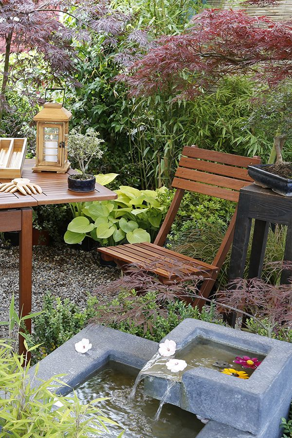 Let's sit in our oriental #garden: #relax yourself and enjoy the atmosphere! #OrientalScent #zen #Agricola