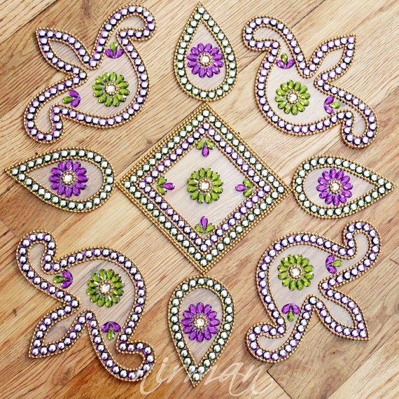 1000 images about kundan rangoli on pinterest online for Door design rangoli