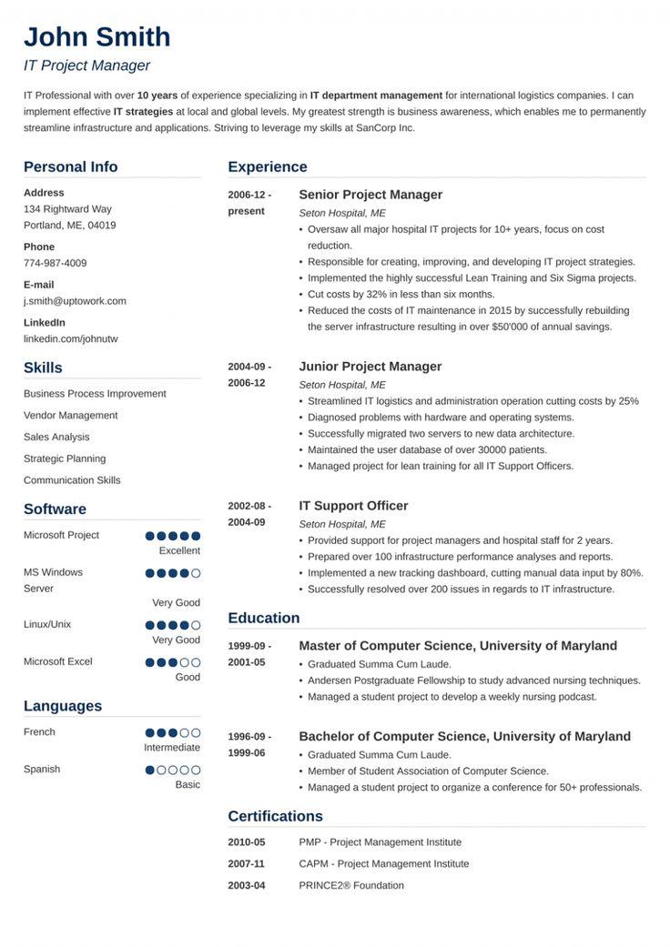 project coordinator resume sample pdf