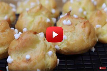 Réussissez votre pâte à choux avec cette recette facile et inratable : choux, éclairs, profiteroles, paris-brest et ici chouquettes deviendront un jeu d