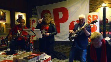 SP Kerkrade presenteert eigen band tijdens politiek café