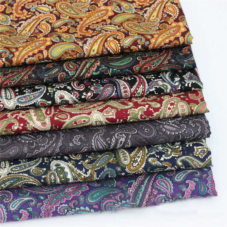 Find More Fabric Information about meter cotton poplin fabric for dress shirt vintage paisley material sewing patchwork brown red black purple paisley fabric retro,High Quality fabric offers,China fabric properties Suppliers, Cheap poplin stretch from shipper xiao's store on Aliexpress.com