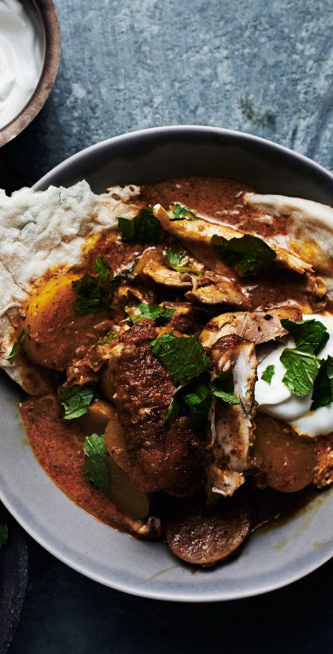161 best chicken recipes images on pinterest bon appetit chicken pop this indian spiced chicken with tomato and cream in your slow cooker in the morning forumfinder Choice Image