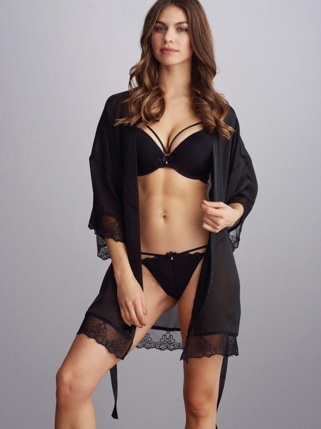 Hannah kimono | Wonderful nightwear from Charade | Buy online - Change Lingerie