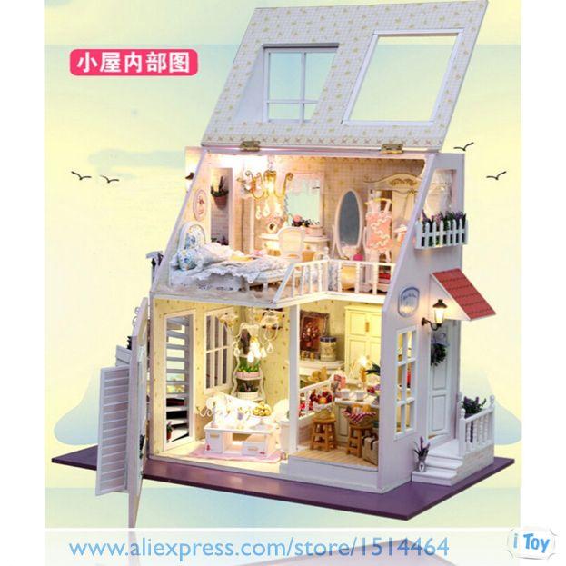 Oltre 25 fantastiche idee su casa delle bambole di legno for Piccoli piani di casa sulla spiaggia su palafitte