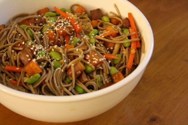 Teriyaki Soba Salad