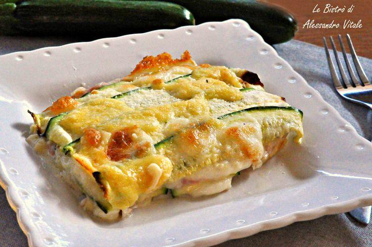 Parmigiana di zucchine, secondo piatto