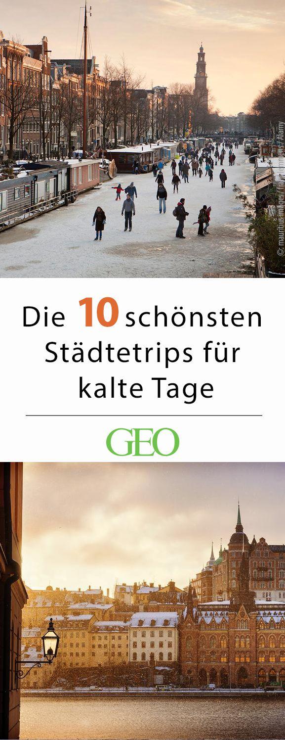 Reiseziele im Winter: Die besten Städtetrips – GEO