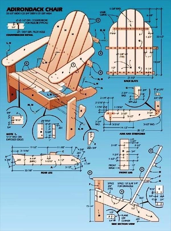 Simple Upcycled Pallet Adirondack Chair Instructions 99 Pallets