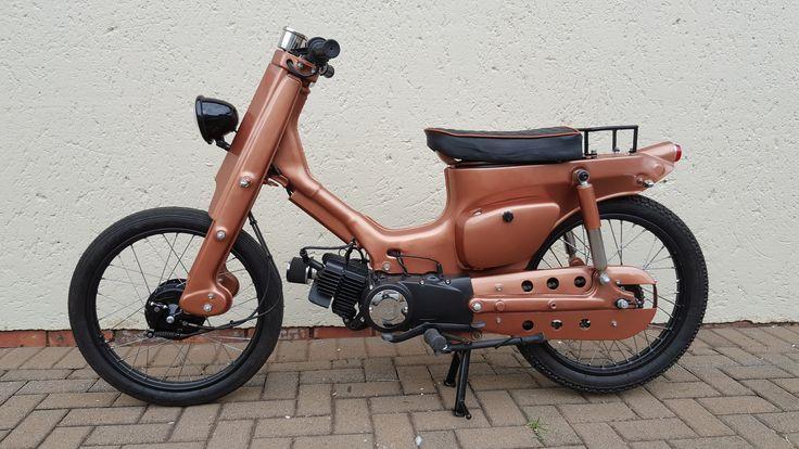 1984 Suzuki FR80 re-imagined