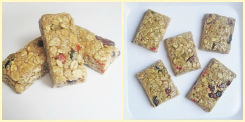 Graze*box flapjack copy recipe