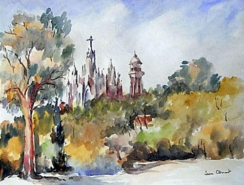 https://flic.kr/p/6ZjFE2 | Tibidabo | La iglesia del Sagrado Corazón se halla en la montaña denominada Tibidabo, que es la misma sierra de Collserola, en Barcelona.