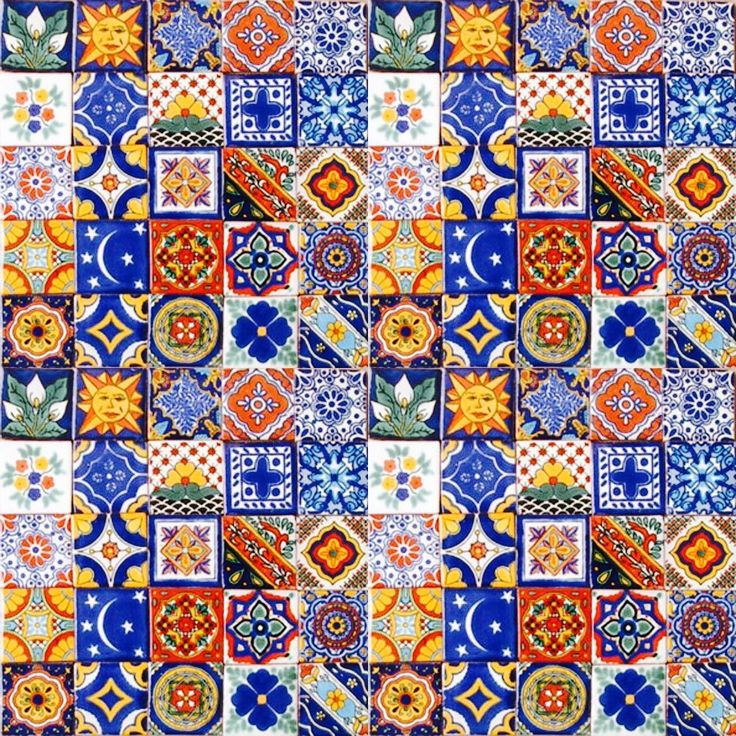 Mexican Decorative Tiles 471 Best Mexican Tile Samples Images On Pinterest  Mexican Tiles