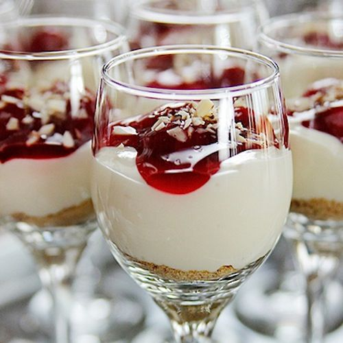 Cherry Cheesecake Shooters