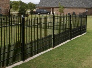 Clean   Wrought Iron Fence Removal and wrought iron fence baton rouge