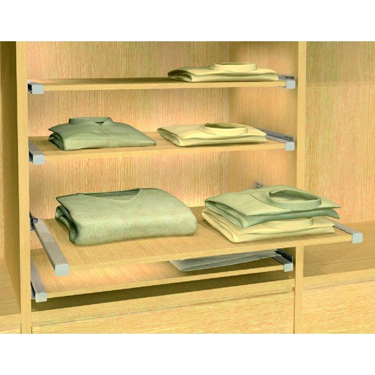 M s de 25 ideas incre bles sobre estante de toallas en - Rieles para baldas extraibles ...