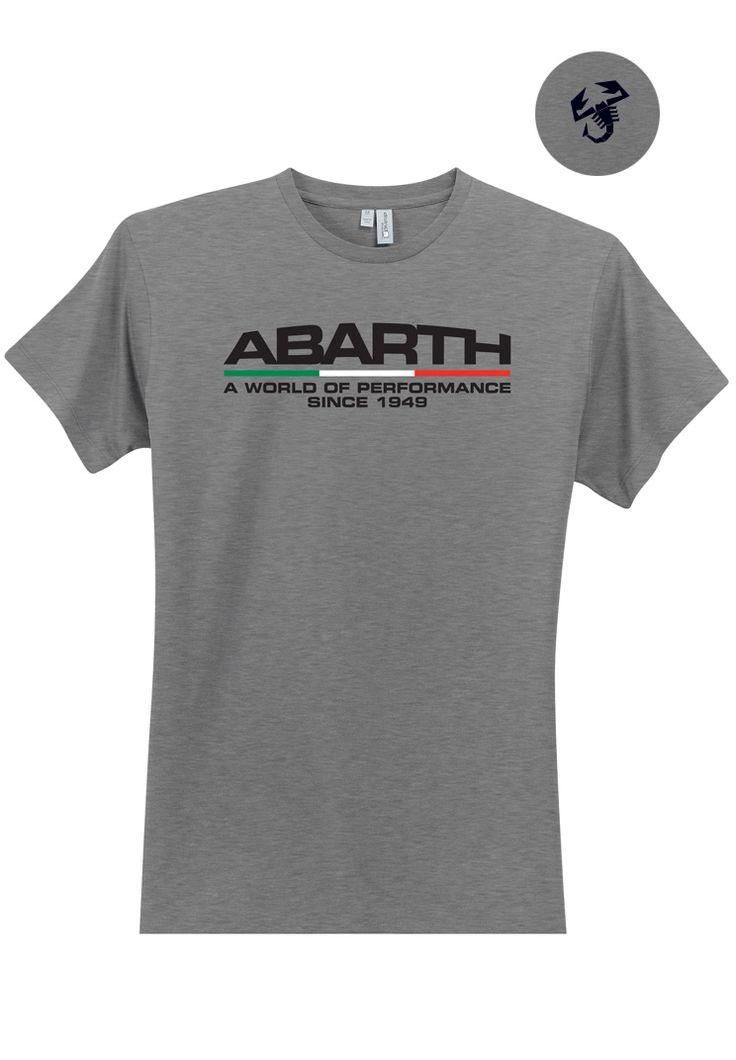 FIAT Merchandise: Product 'ABARTH Men's Italian T-Shirt'