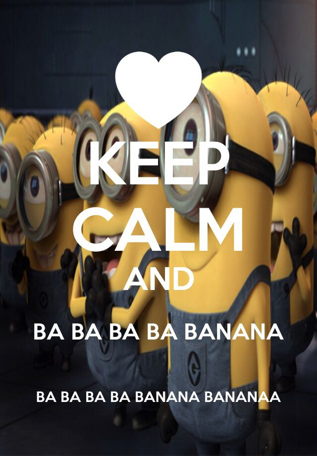 Incroyable Keep Calm And Love Minions