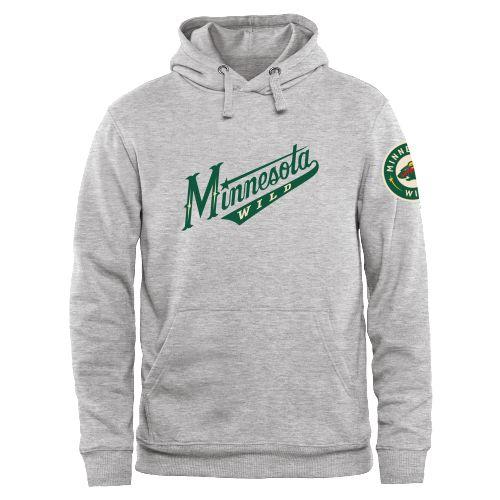 Men's Minnesota Wild Design Your Own Hooded Sweatshirt - $66.99