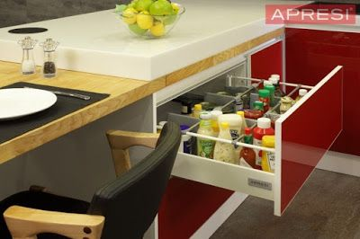 Highly adaptable and beautifully designed, Lammin is the perfect kitchen storage solution for any home. With its sleek aluminium cabinetry that's both durable and rust-proof, it promises to be a kitchen for keeps. http://www.apresi.com.my/